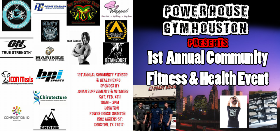 power-house-gym-houston---community-event